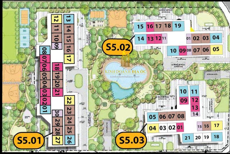 cho thuê căn hộ Tòa S5.03 Vinhomes Grand Park 1
