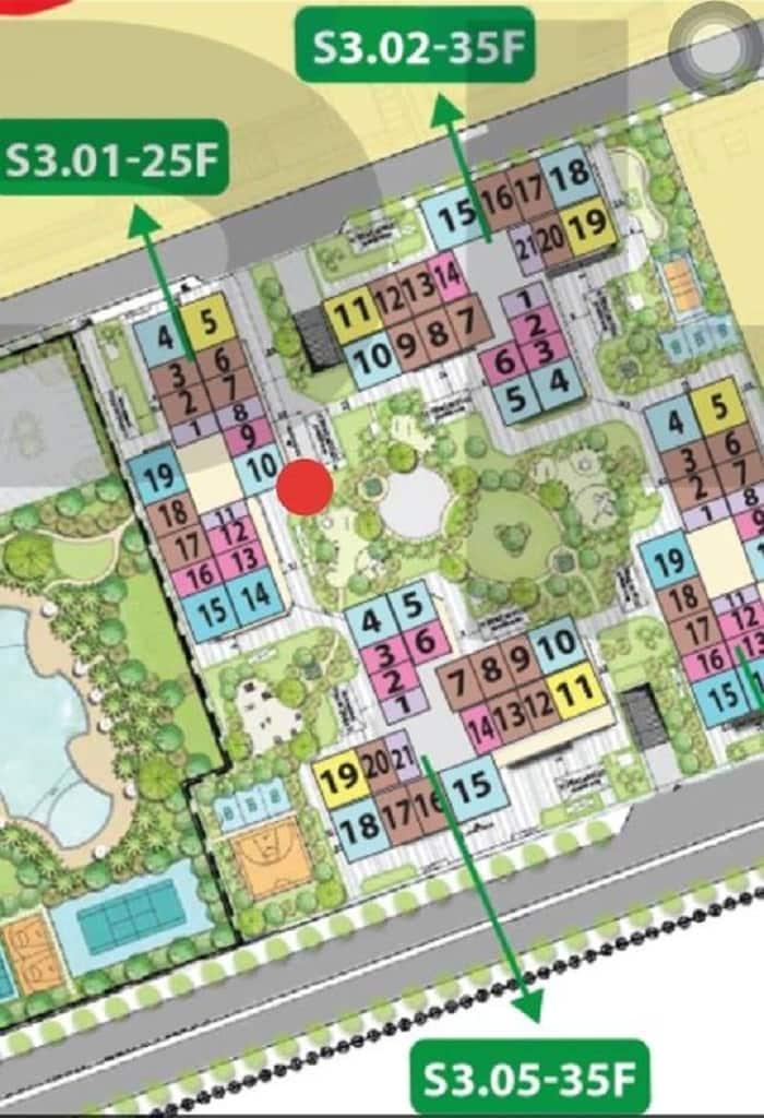 cho thuê căn hộ Tòa S3.02 Vinhomes Grand Park 1