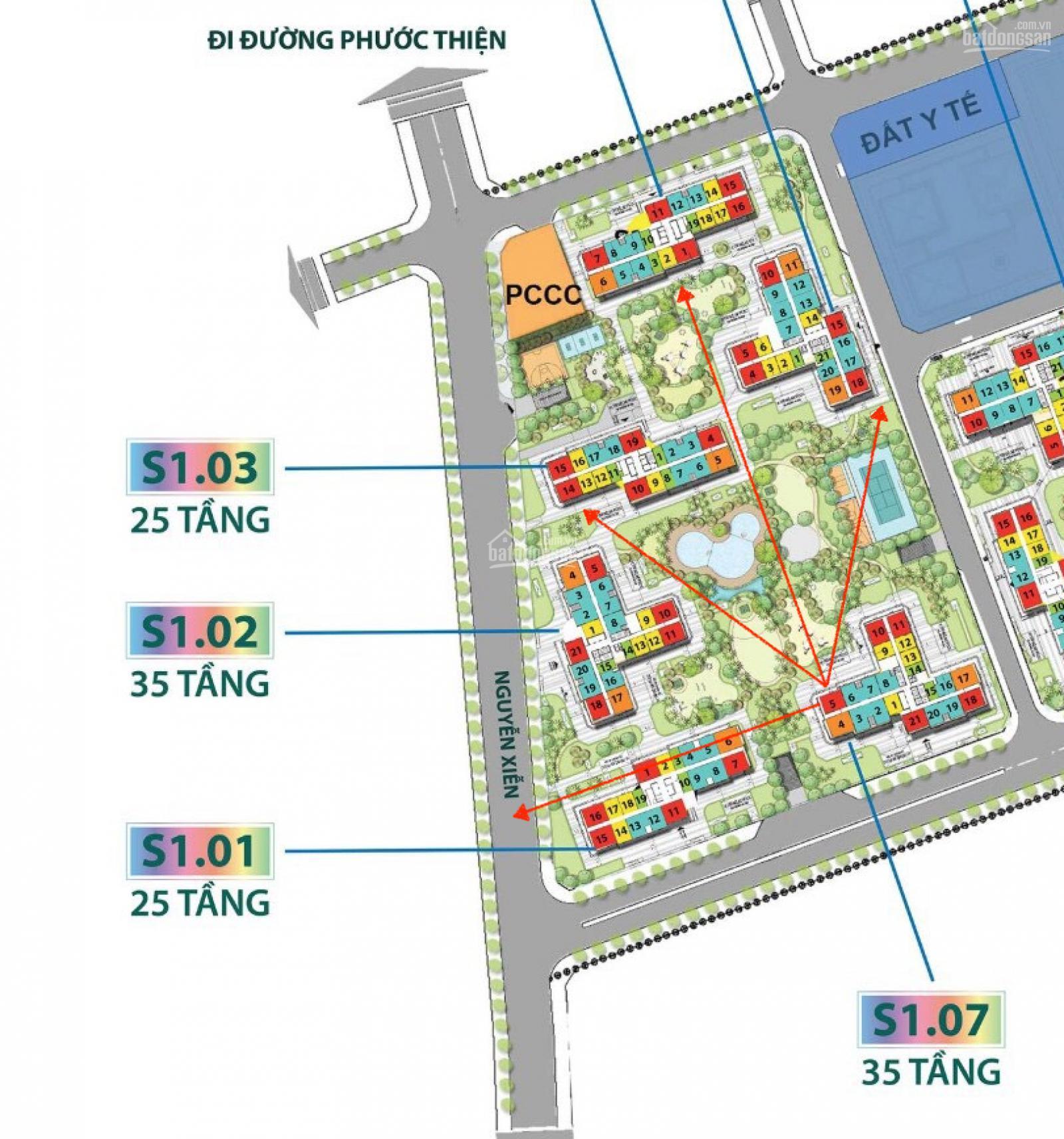 cho thuê căn hộ S1.03 Vinhomes Grand Park