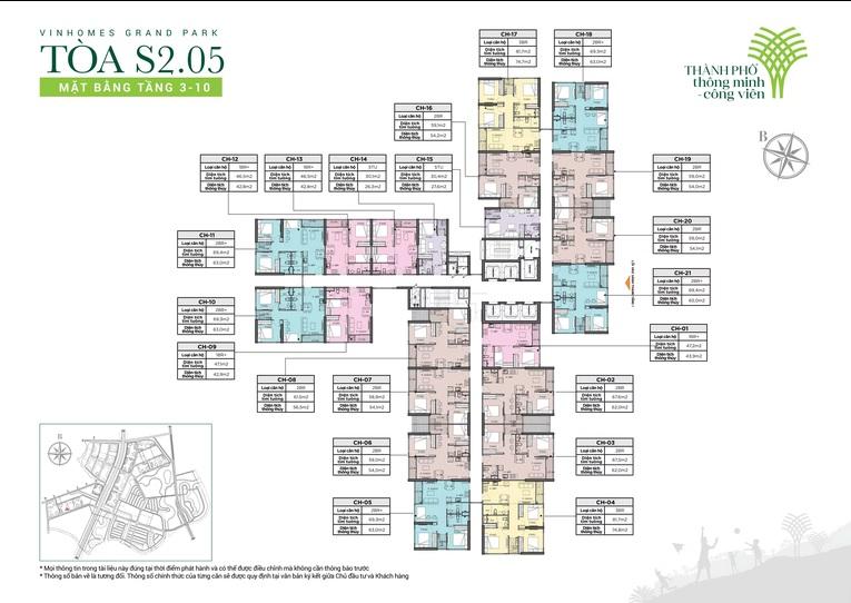 cho thuê căn hộ Tòa S2.05 Vinhomes Grand Park Quận 9 2