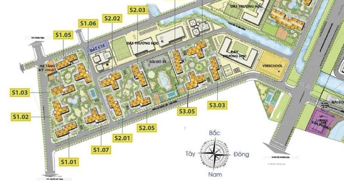 cho thuê căn hộ Tòa S2.05 Vinhomes Grand Park Quận 9
