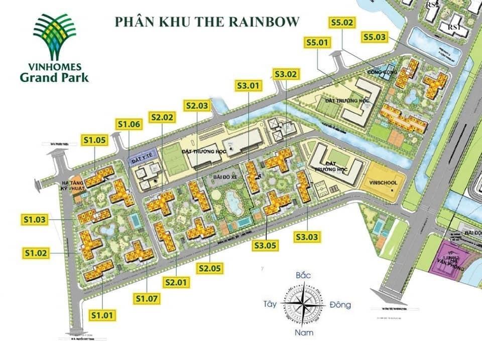 cho thuê căn hộ S3.01 Vinhomes Grand Park 1