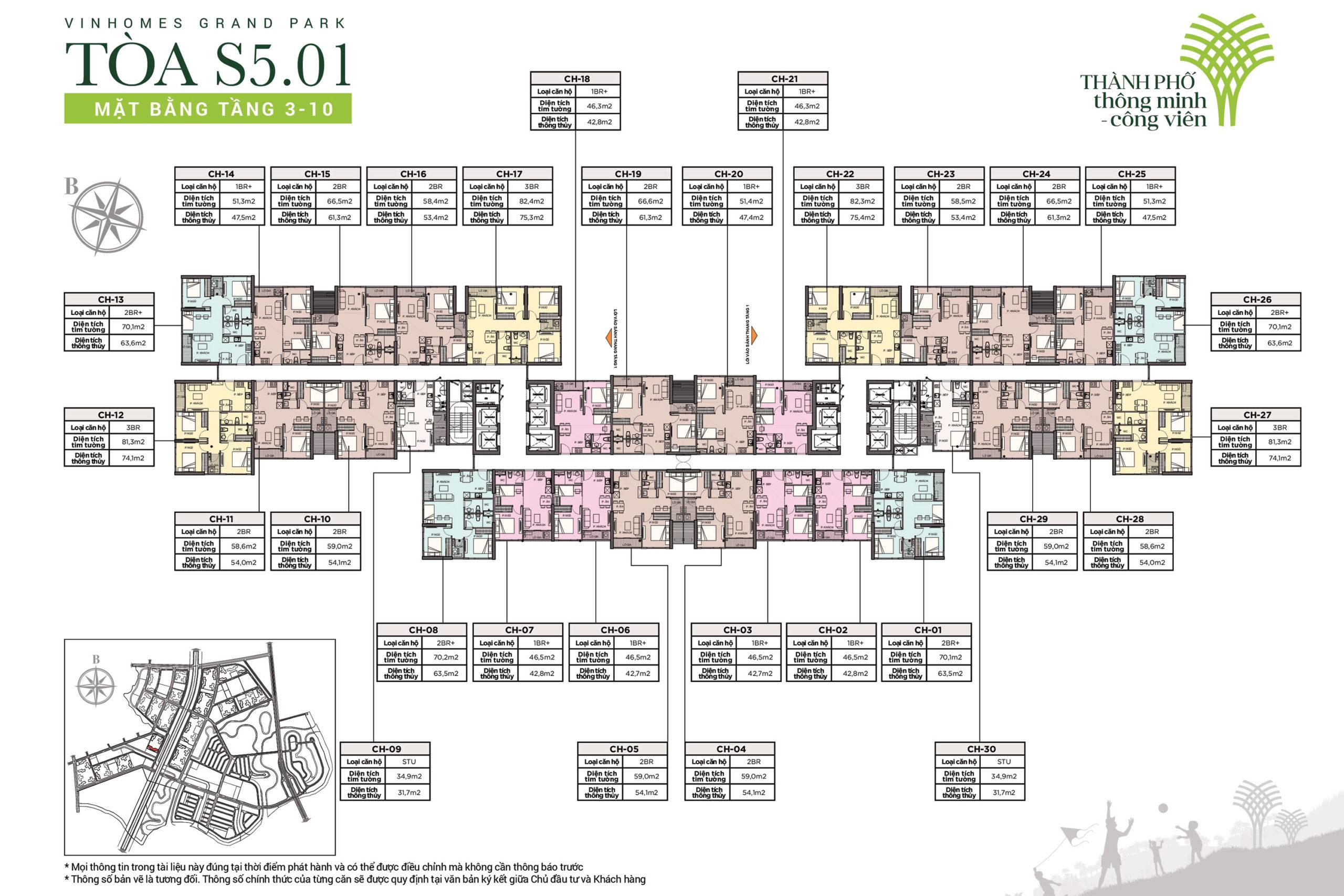 cho thuê căn hộ tòa S5.01 Vinhomes Grand Park - Vincity Quận 9 2