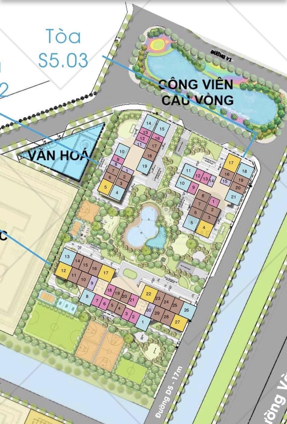thông tin chi tiết toà s5.03 Vinhomes Grand Park 1