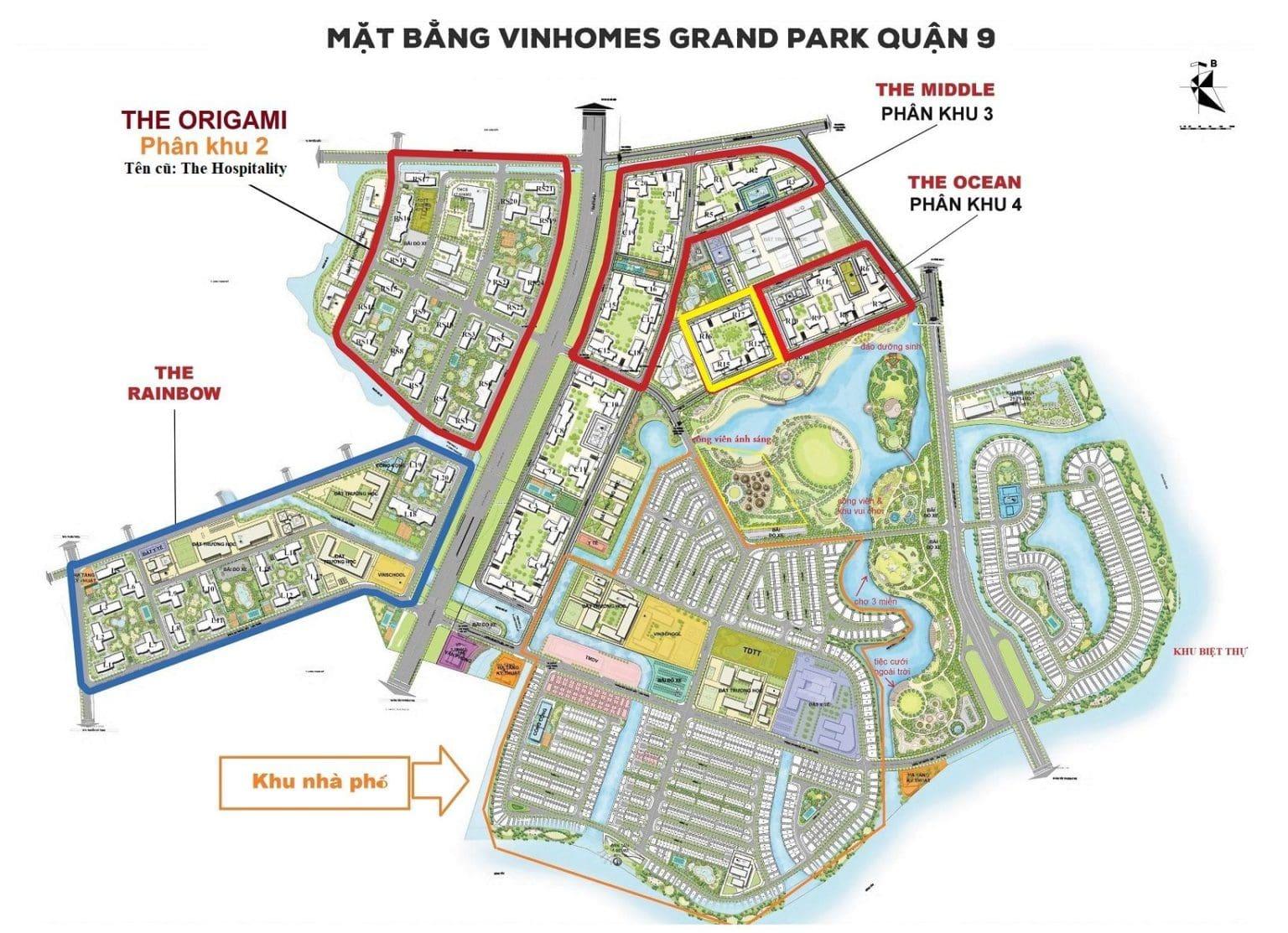 Tổng quan toà S2.01 Vinhomes Grand Park
