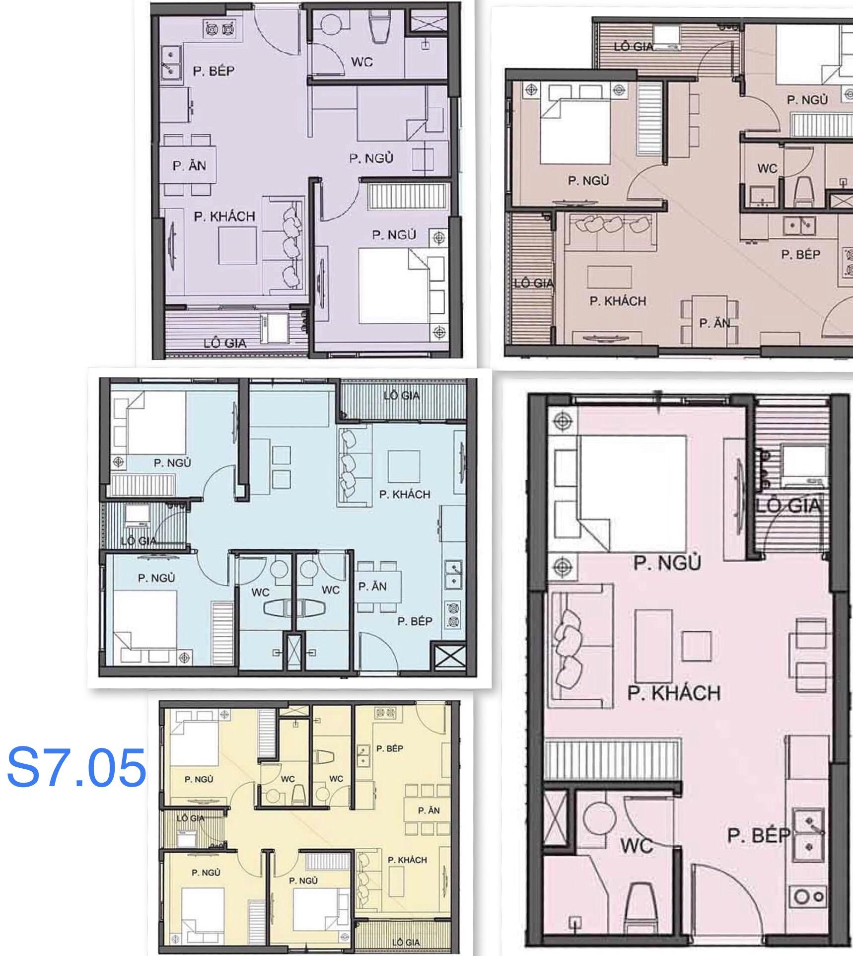 cho thuê căn hộ S7.05 Vinhomes Grand Park