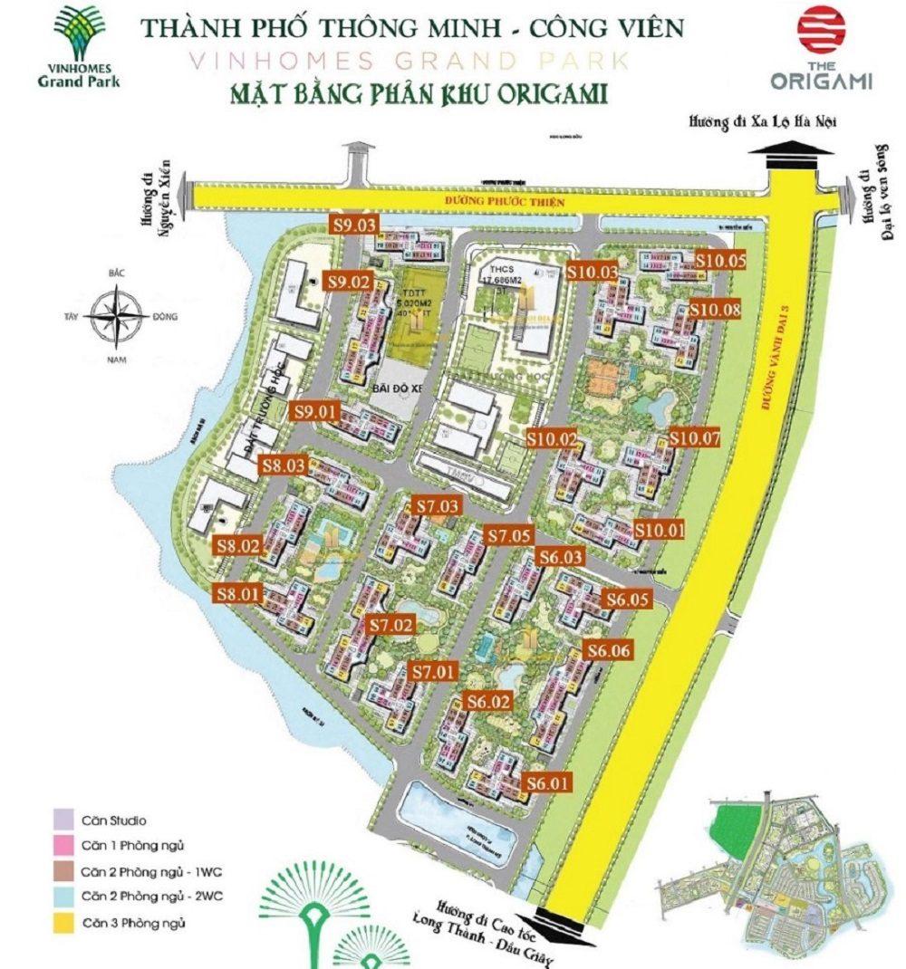 cho thuê căn hộ S6.01 Vinhomes Grand Park