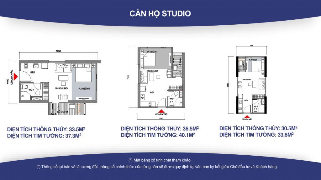 Cho thuê Căn hộ Studio có nội thất toà S3.01 Vinhomes Grand Park giá 5tr/tháng
