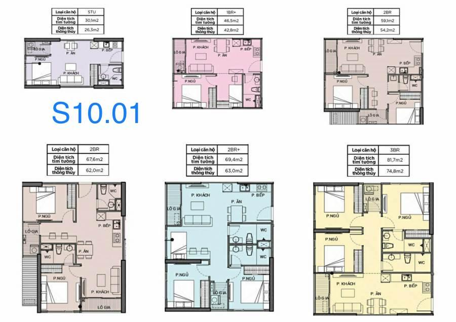 cho thuê căn hộ S10.01 Vinhomes Grand Park 1