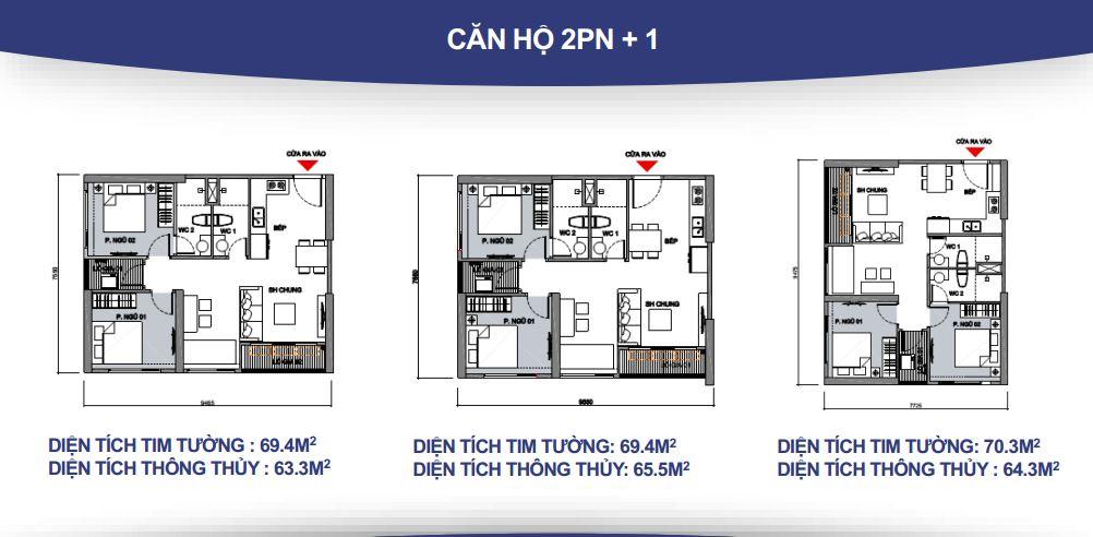 cho thuê Căn hộ 2 phòng ngủ 2wc Vinhomes Grand Park giá 10tr