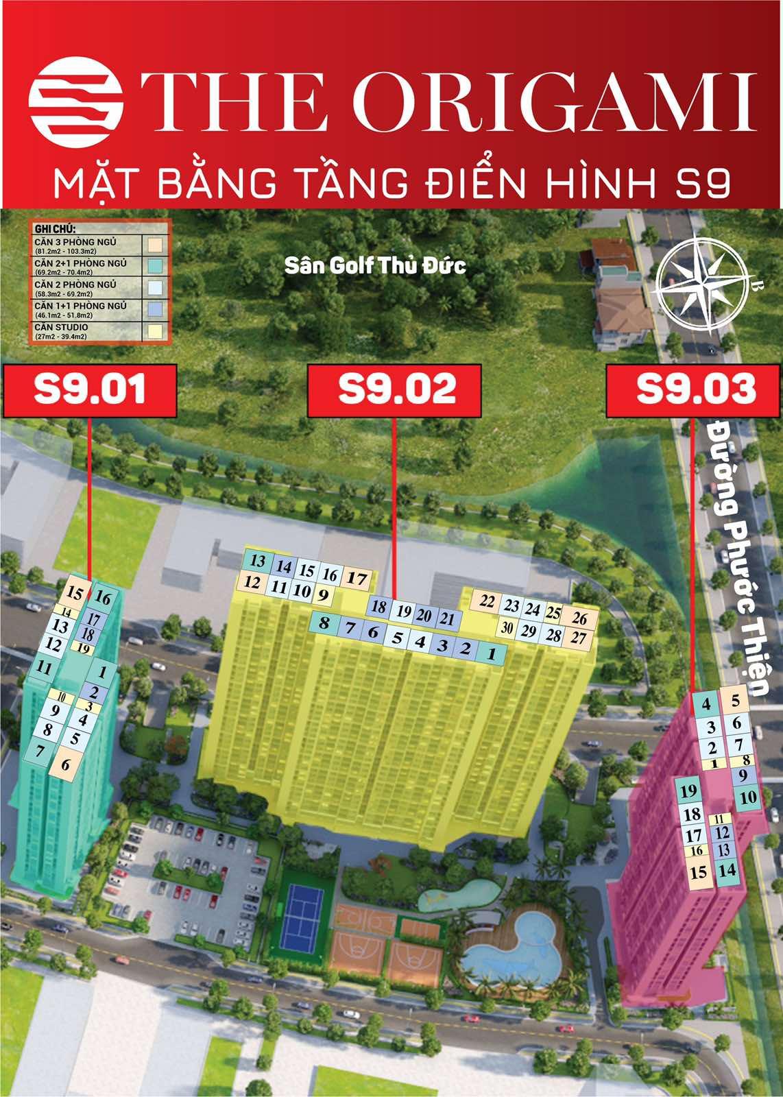 cho thuê căn hộ toà S9.01 Vinhomes Grand Park