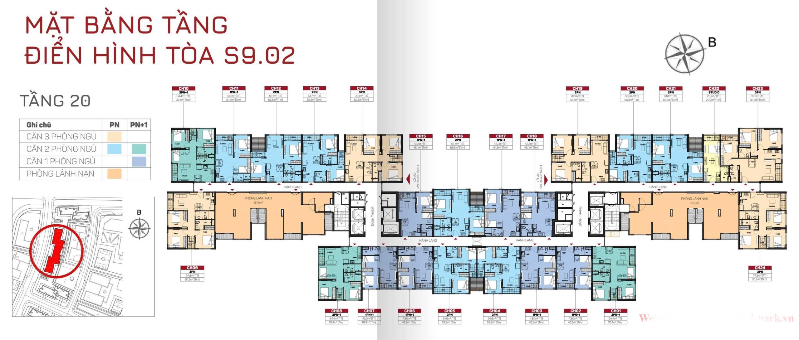 cho thuê căn hộ S9.02 Vinhomes Grand Park 2