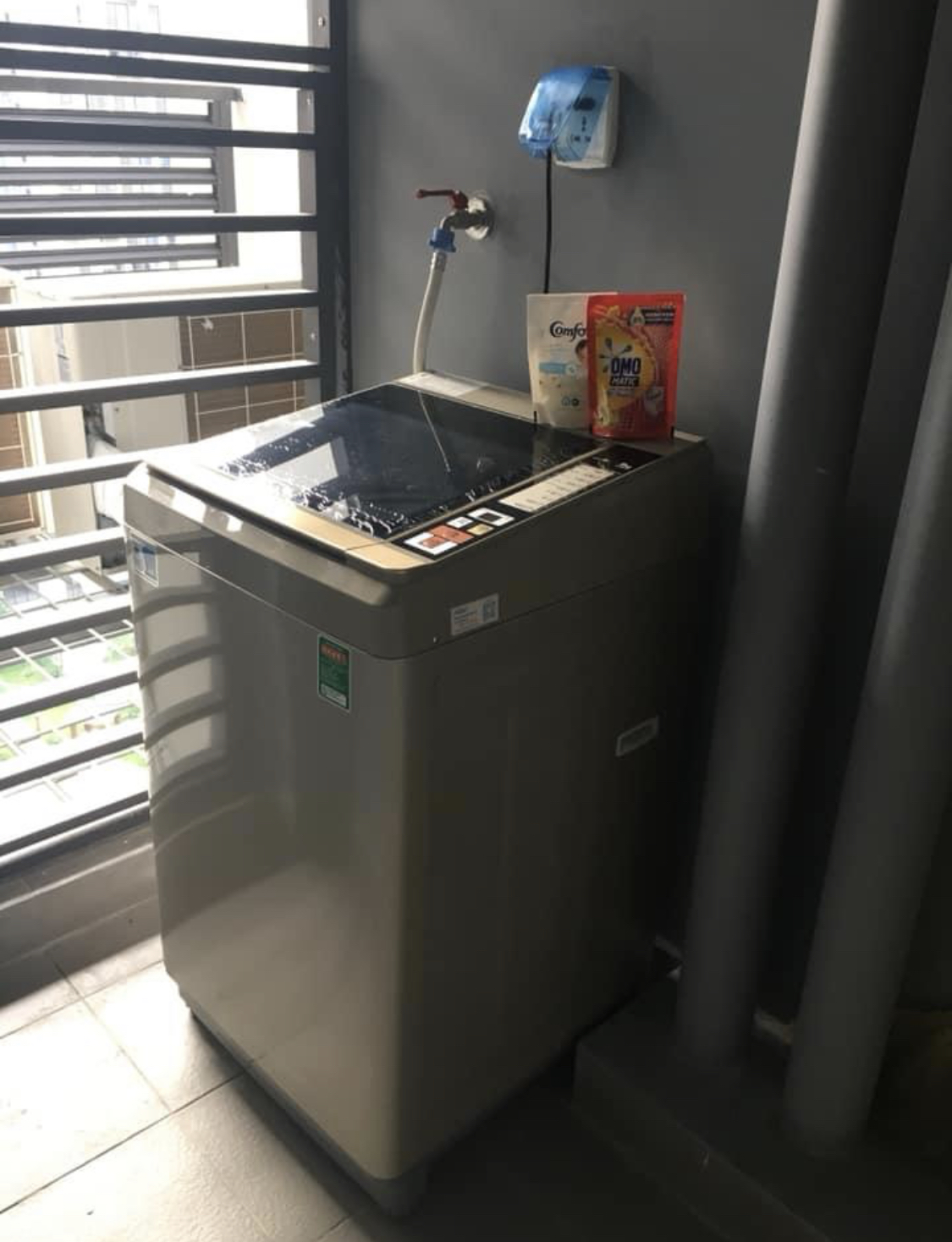 cho thuê Căn hộ 2 phòng ngủ 1 Toilet S5.02 Vinhomes Grand Park 5