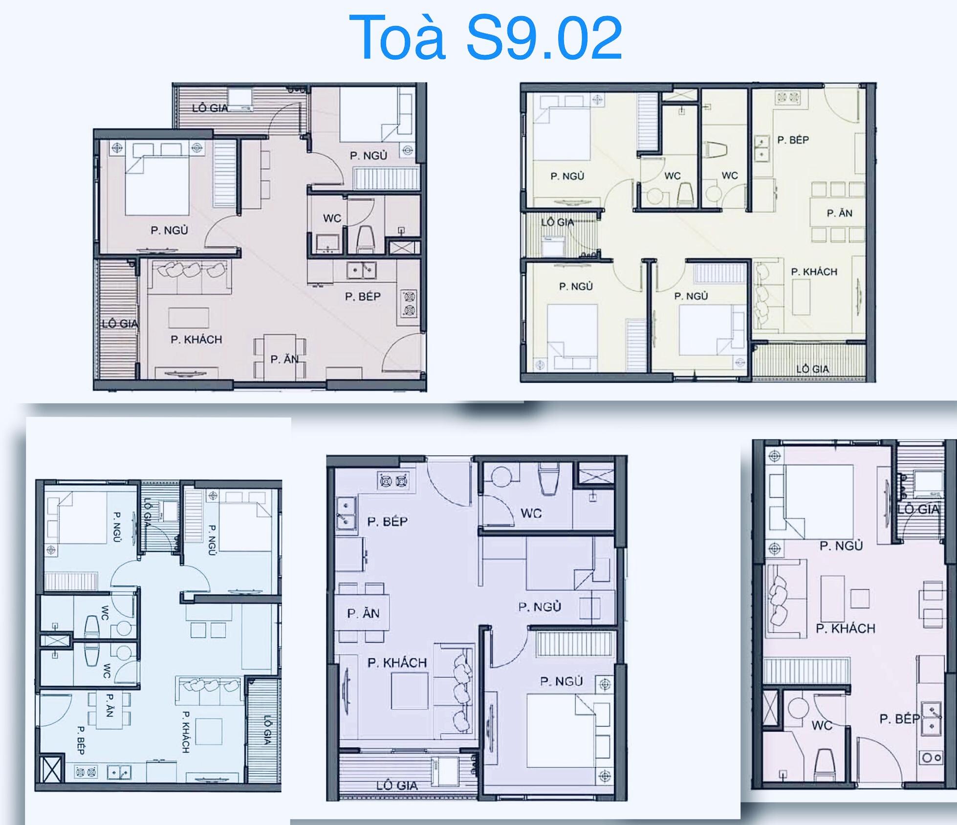 cho thuê căn hộ S9.02 Vinhomes Grand Park 3