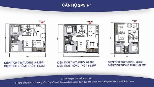 Cho thuê Căn hộ 2 phòng ngủ Toà S3.02 Vinhomes Grand Park 6tr/tháng