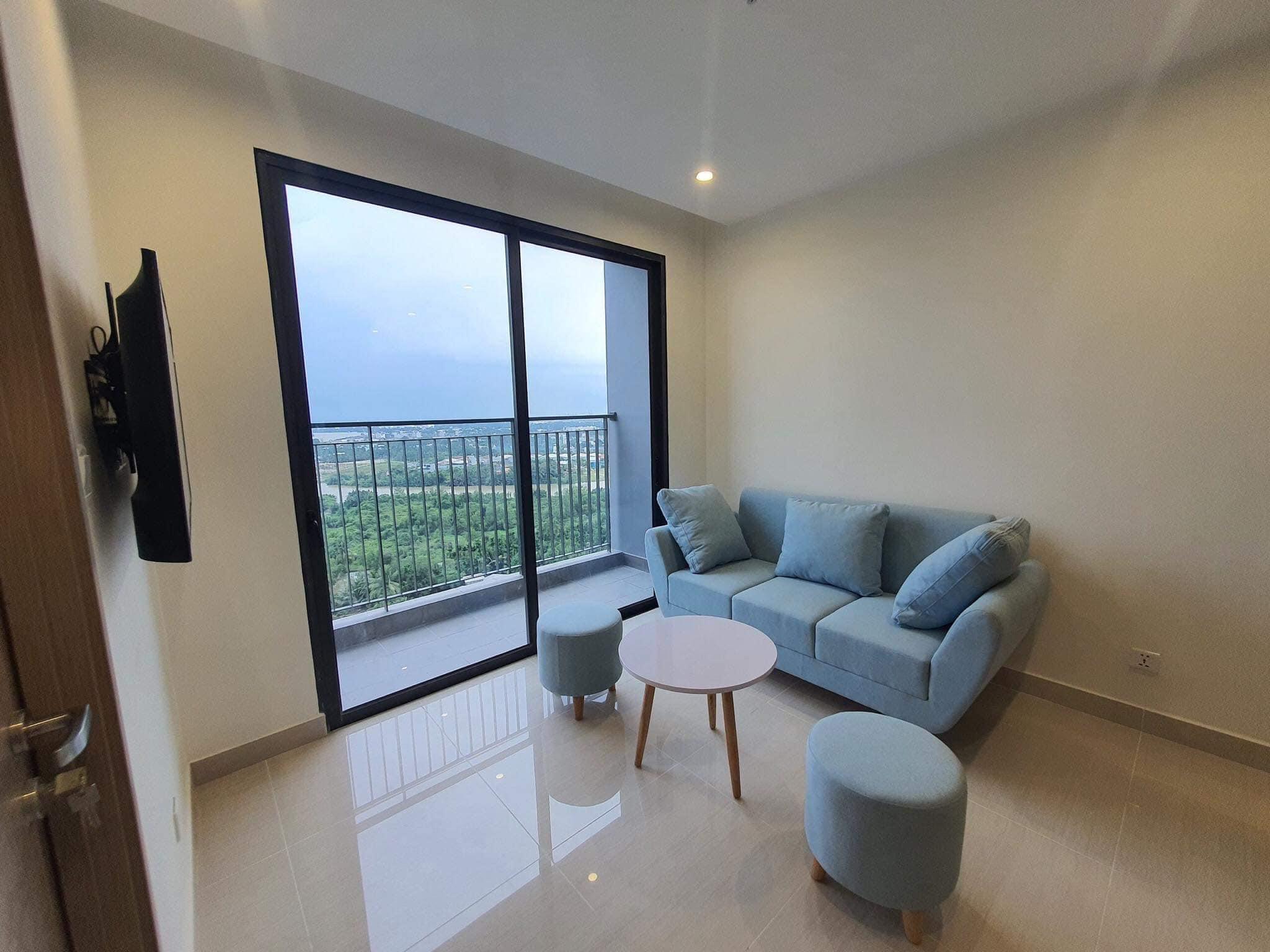 Căn hộ 2 phòng ngủ tầng 8 toà S1.06 đầy đủ nội thất giá 7,2tr/tháng