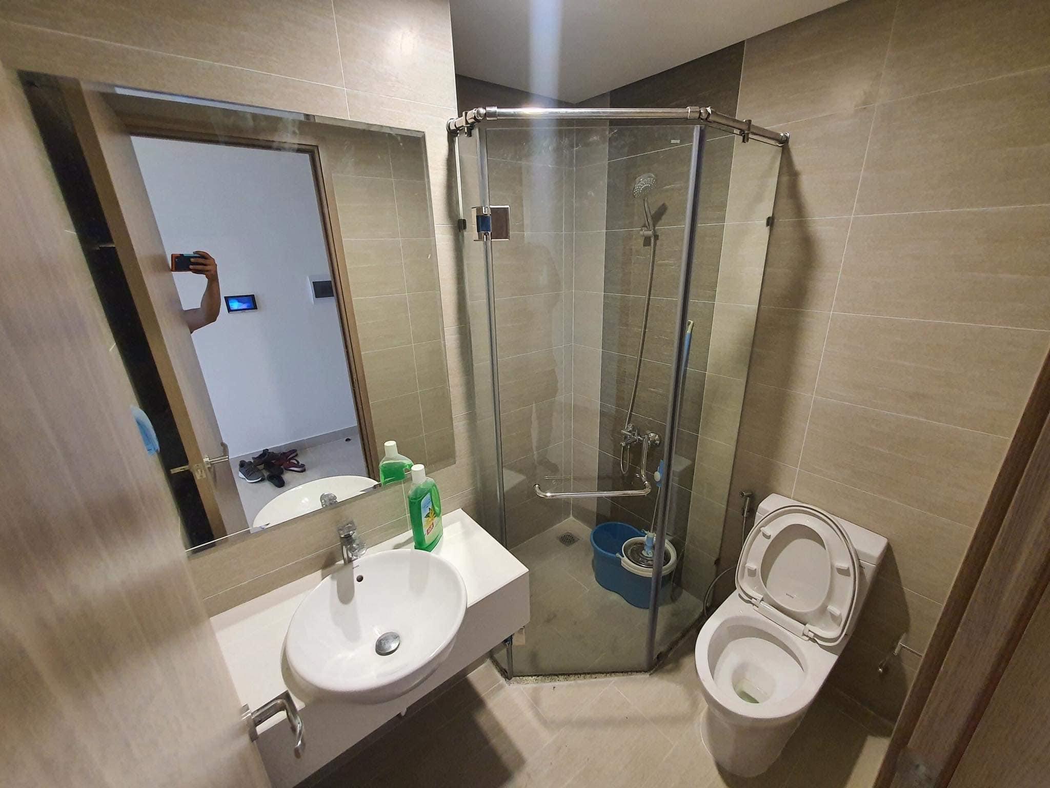 Căn hộ 2 phòng ngủ tầng 8 toà S1.06 đầy đủ nội thất giá 7,2tr/tháng 5