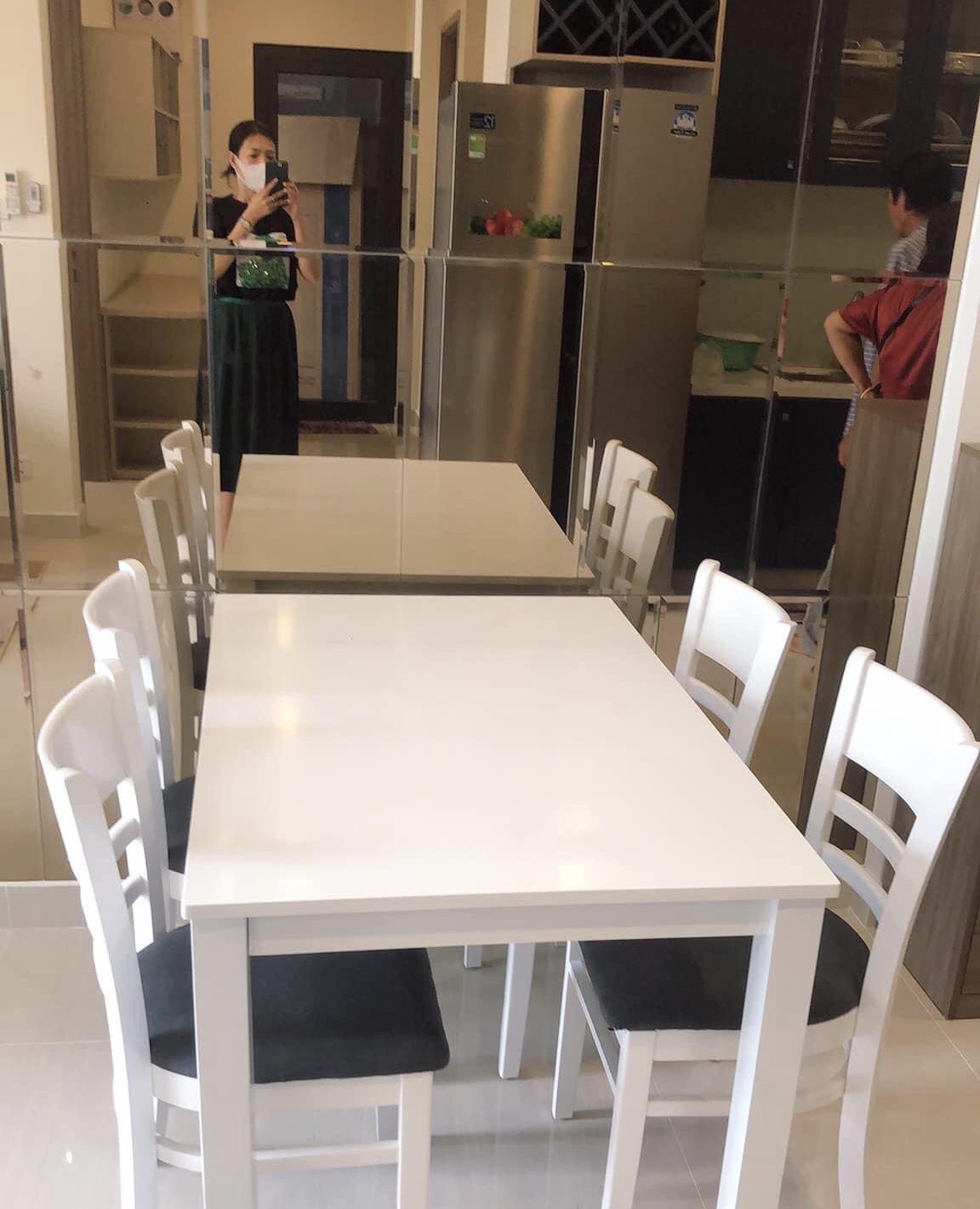 Căn hộ 2 phòng ngủ nội thất mới tầng 7 toà S1.06 giá 7,5tr/tháng