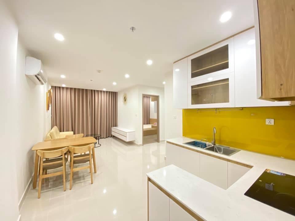 Căn hộ 2 phòng ngủ nội thất đầy đủ tầng 17 Toà S1.07 giá 7tr/tháng