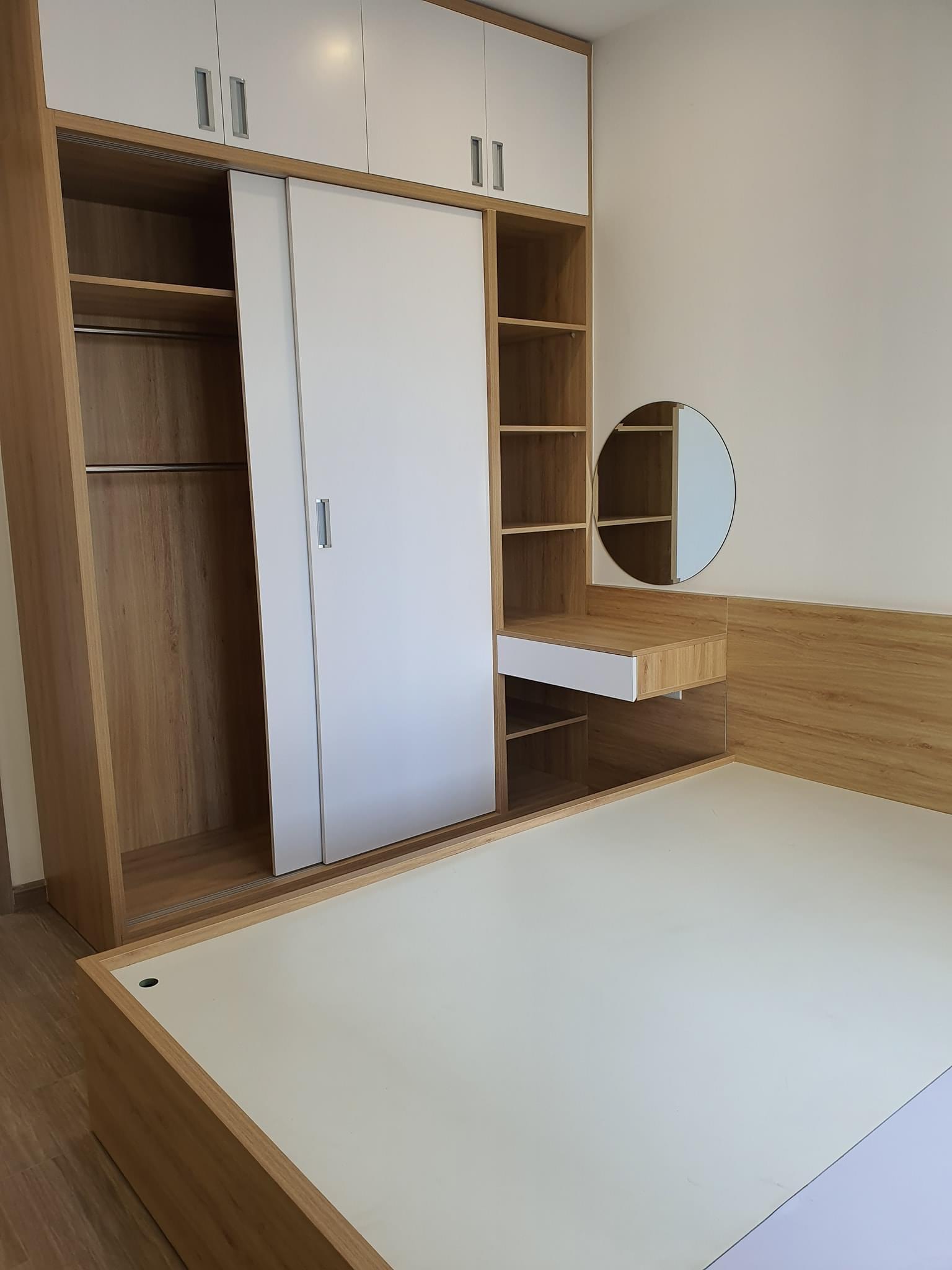 Căn hộ 2 phòng ngủ 1 Toilet tầng 17 toà S1.06 Nội thất giá 7tr/tháng 7