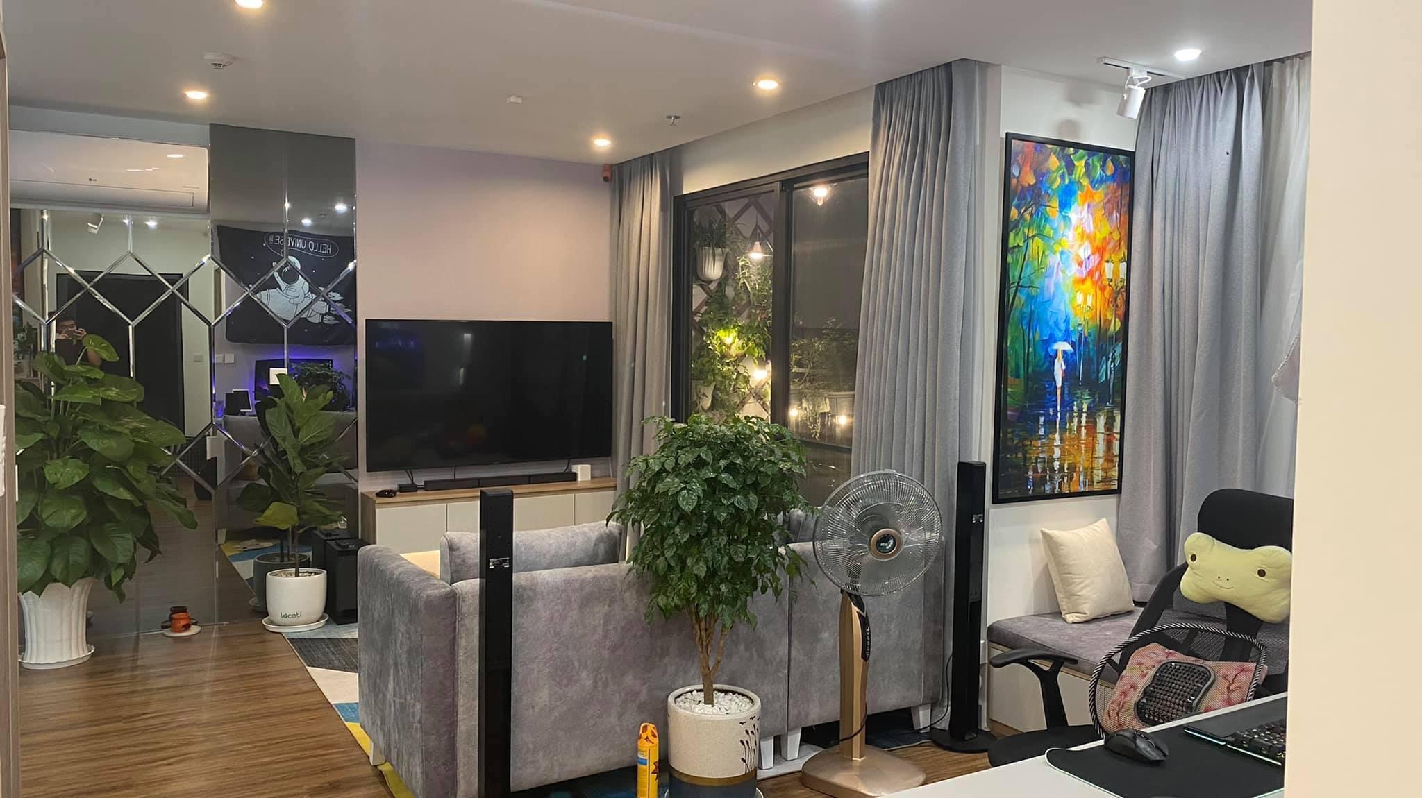 Căn hộ 2 phòng ngủ tầng 19 toà S2.02 Vinhomes Grand Park 8 triệu/tháng 6