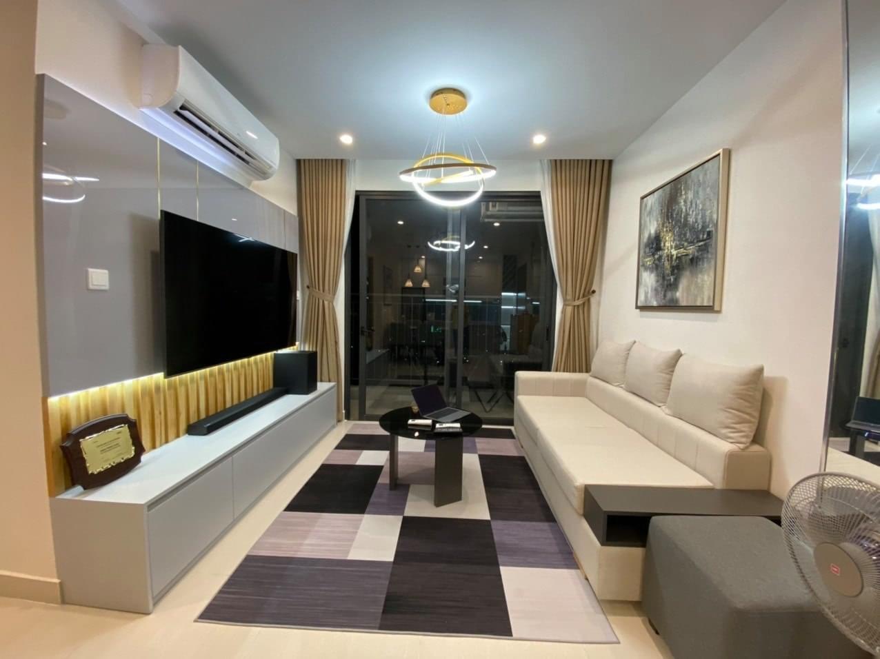 Căn hộ 3 phòng ngủ tầng 34 toà S5.03 Vinhomes Grand park cho thuê 10tr