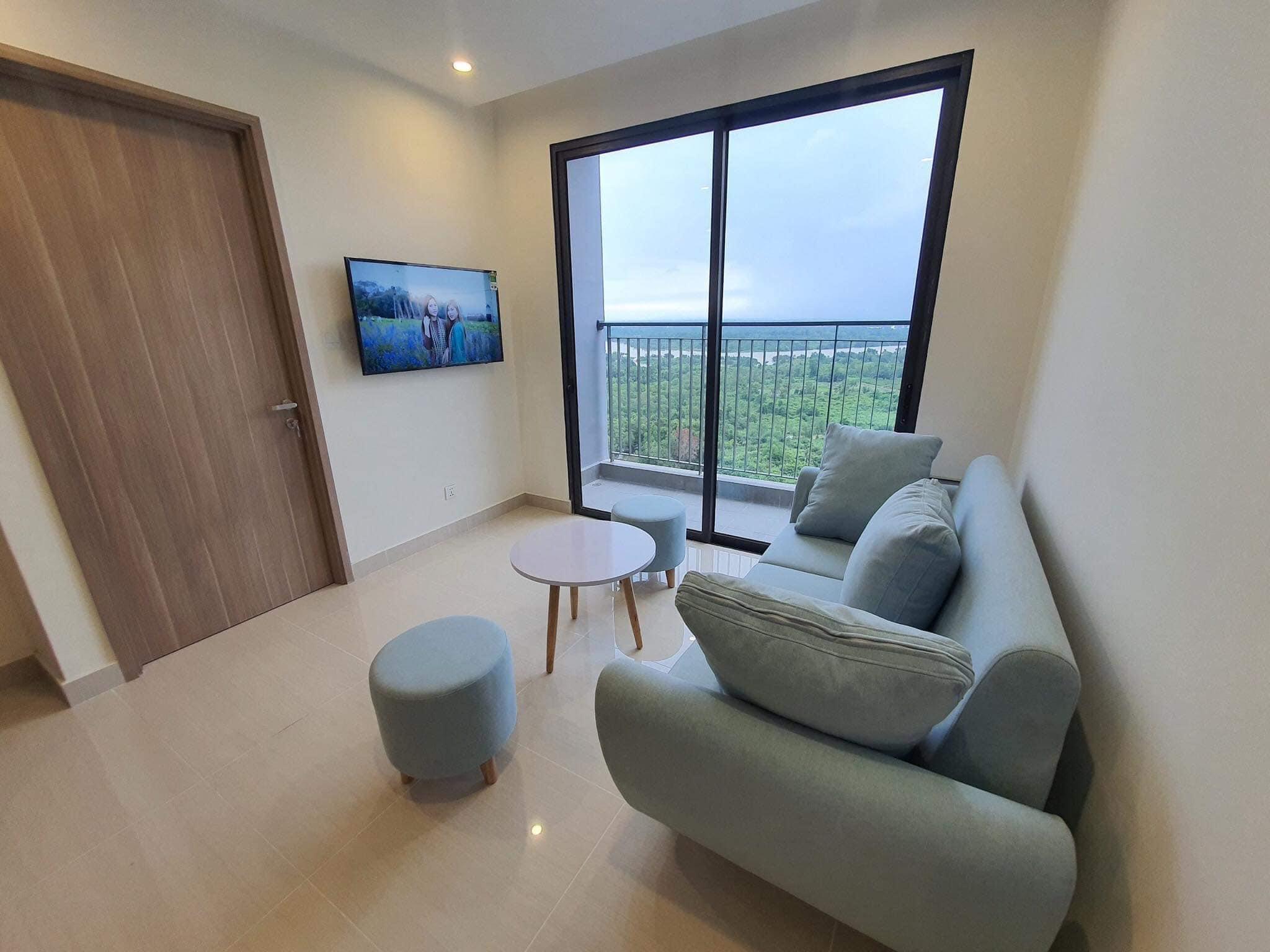 Căn hộ 2 phòng ngủ tầng 8 toà S1.06 đầy đủ nội thất giá 7,2tr/tháng 1