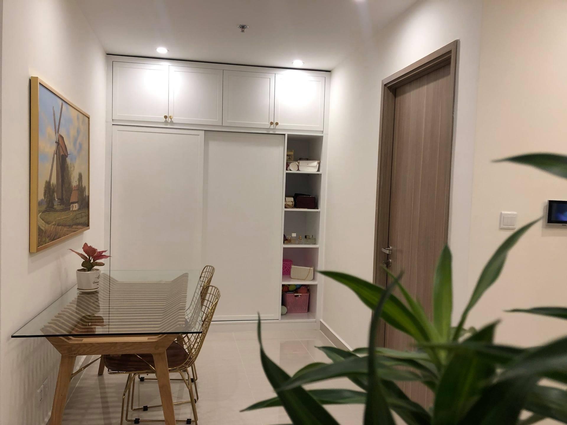 Cho thuê căn 1 phòng ngủ 47m2 toà S1.06 Vinhomes Grand Park 6tr 3