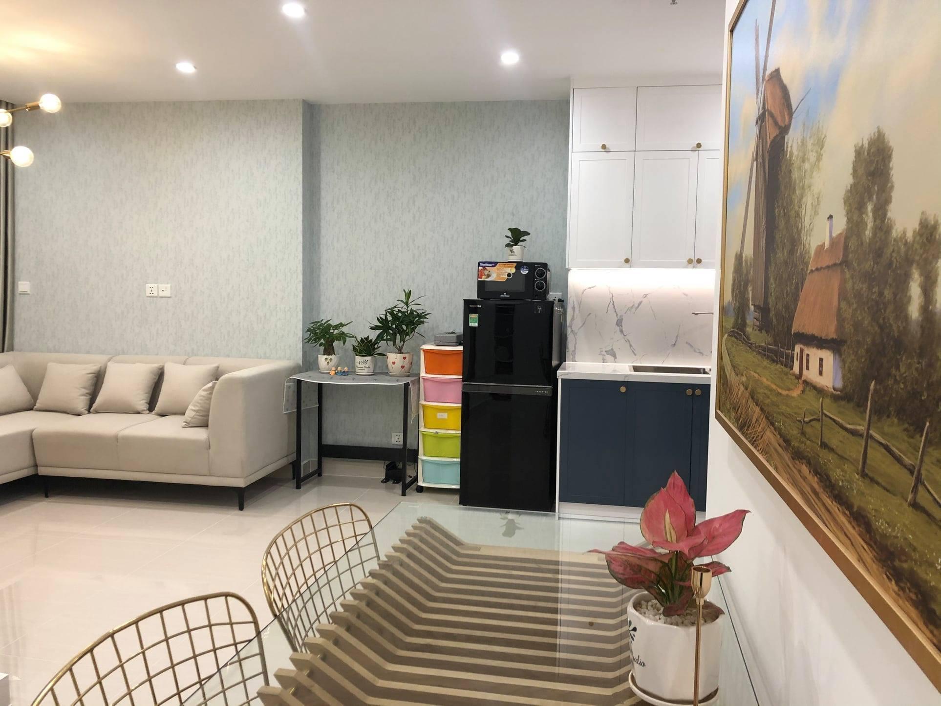 Cho thuê căn 1 phòng ngủ 47m2 toà S1.06 Vinhomes Grand Park 6tr 1