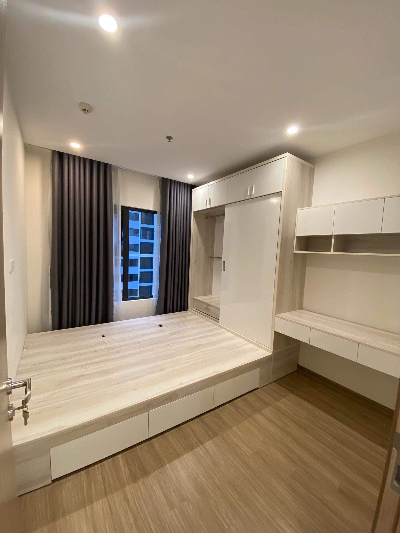 Căn hộ 1 phòng ngủ view hồ bơi tầng 16 toà S2.02 Vinhomes Grand Park 9