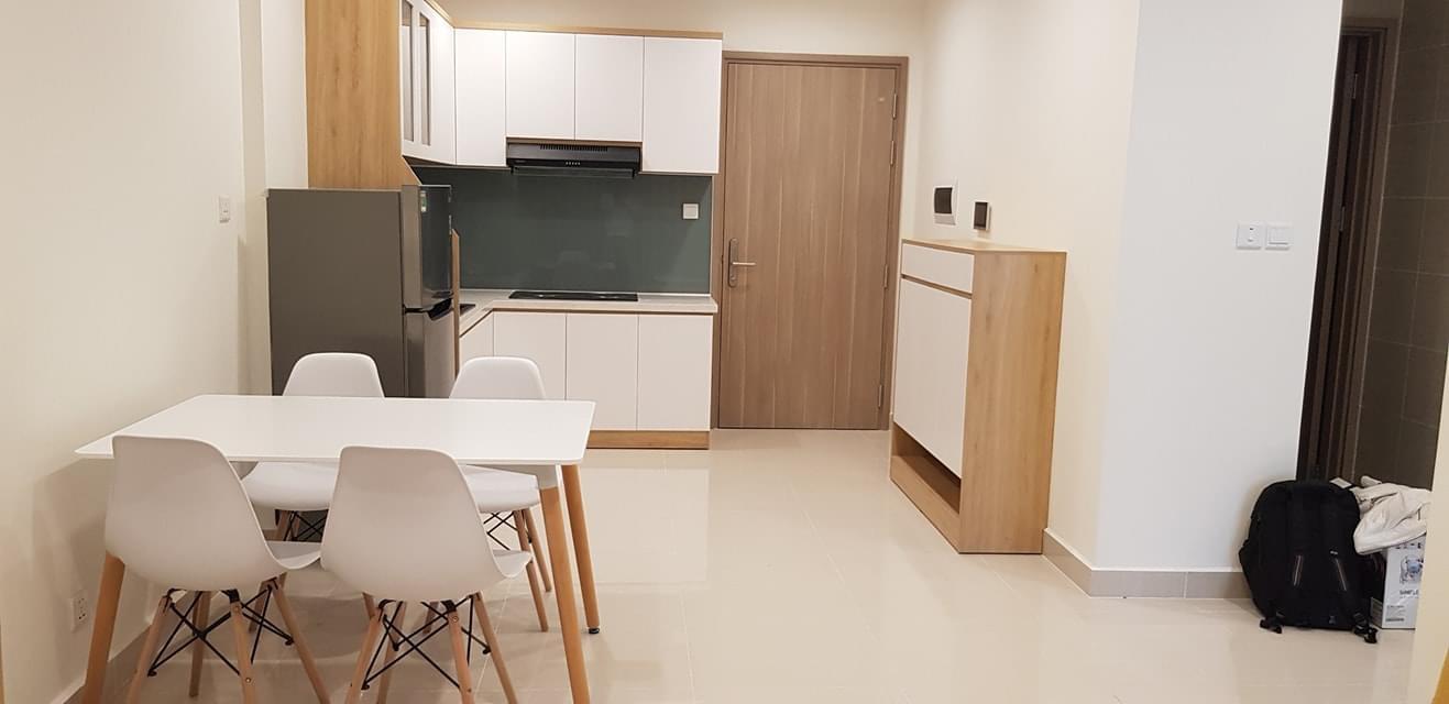 Căn hộ 2 phòng ngủ 1 Toilet tầng 17 toà S1.06 Nội thất giá 7tr/tháng 2