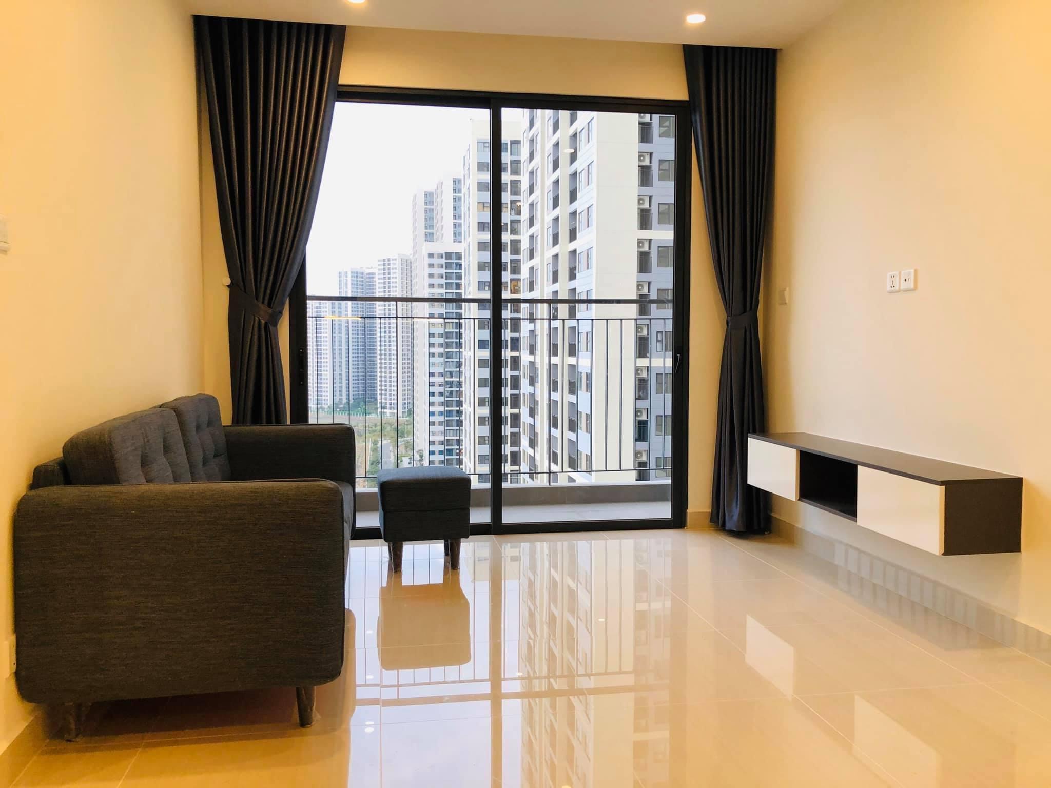Căn hộ 2 phòng ngủ 1wc tầng 10 S1.02 Vinhomes Grand Park 6tr/tháng 1