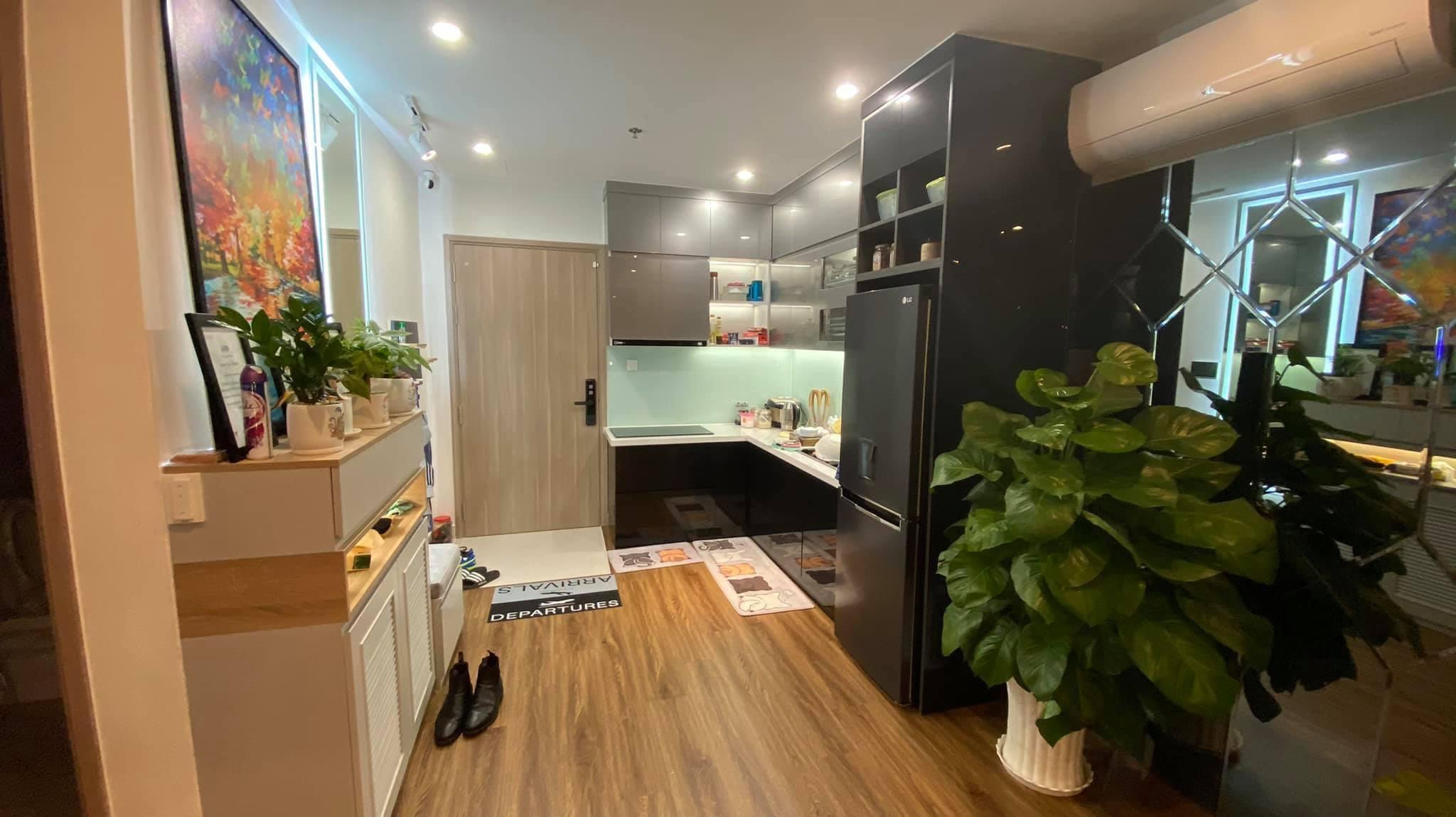 Căn hộ 2 phòng ngủ tầng 19 toà S2.02 Vinhomes Grand Park 8 triệu/tháng